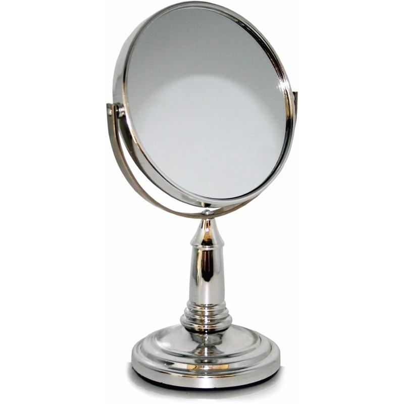 Badkamer spiegeltje 2-zijdig op standaard