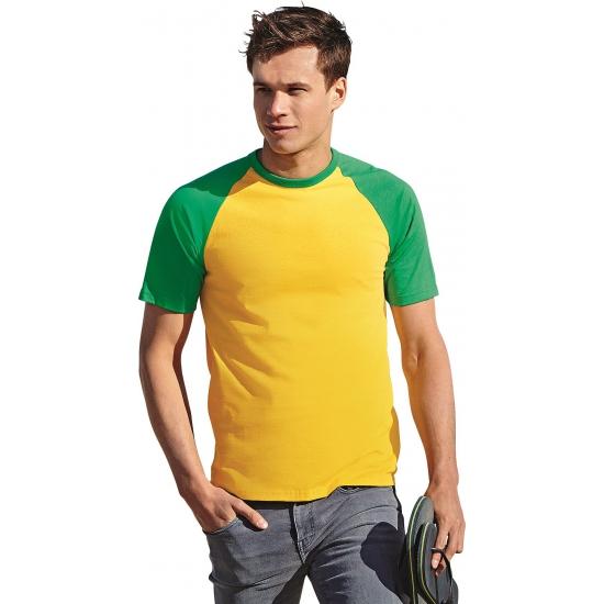 Baseball t-shirt Brazilie voor mannen