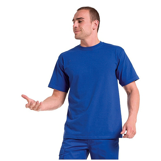 Big size t-shirt blauw 3XL
