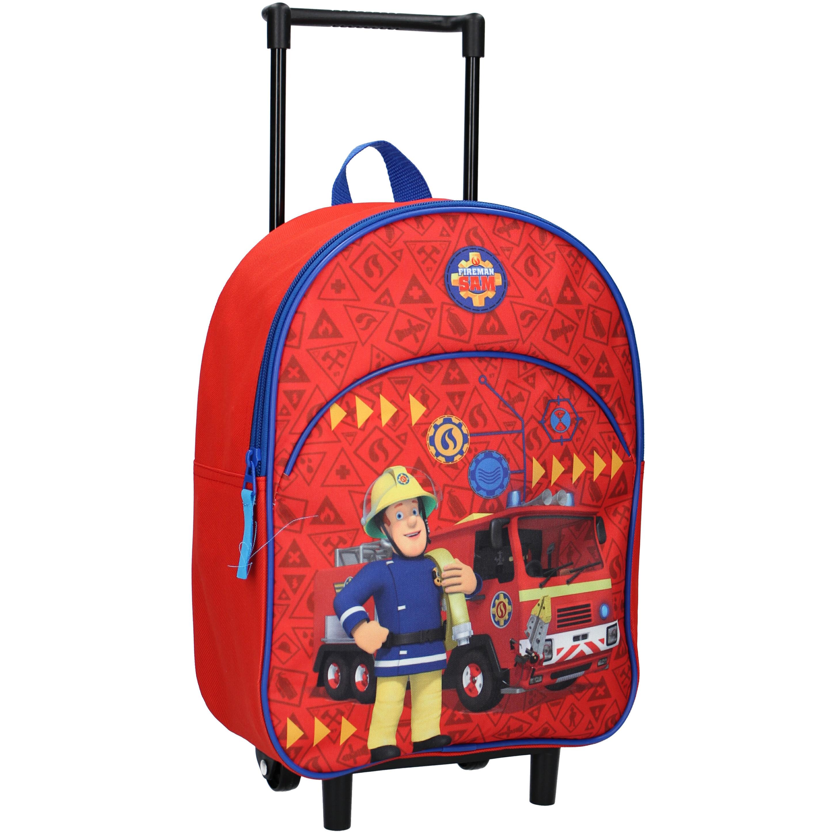 Brandweerman Sam handbagage koffer-weekendtas voor jongens-meisjes-kinderen
