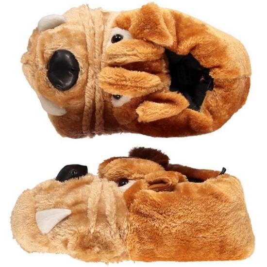 Bulldog pantoffels voor dames