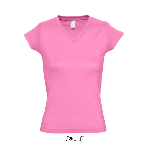 Dames t-shirts korte mouw roze
