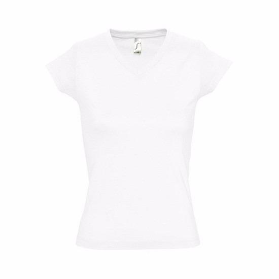 Dames t-shirts korte mouw wit