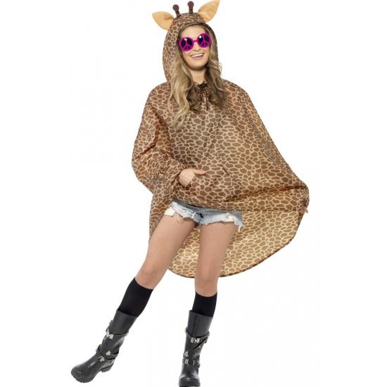 Festival regenponcho giraffe