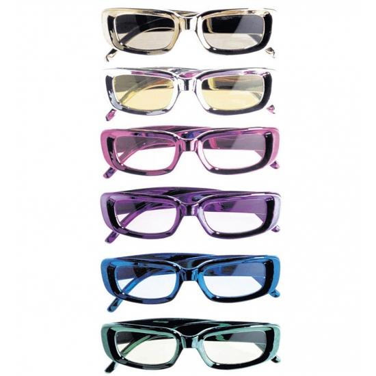 Glimmende feestbrillen rechthoekig