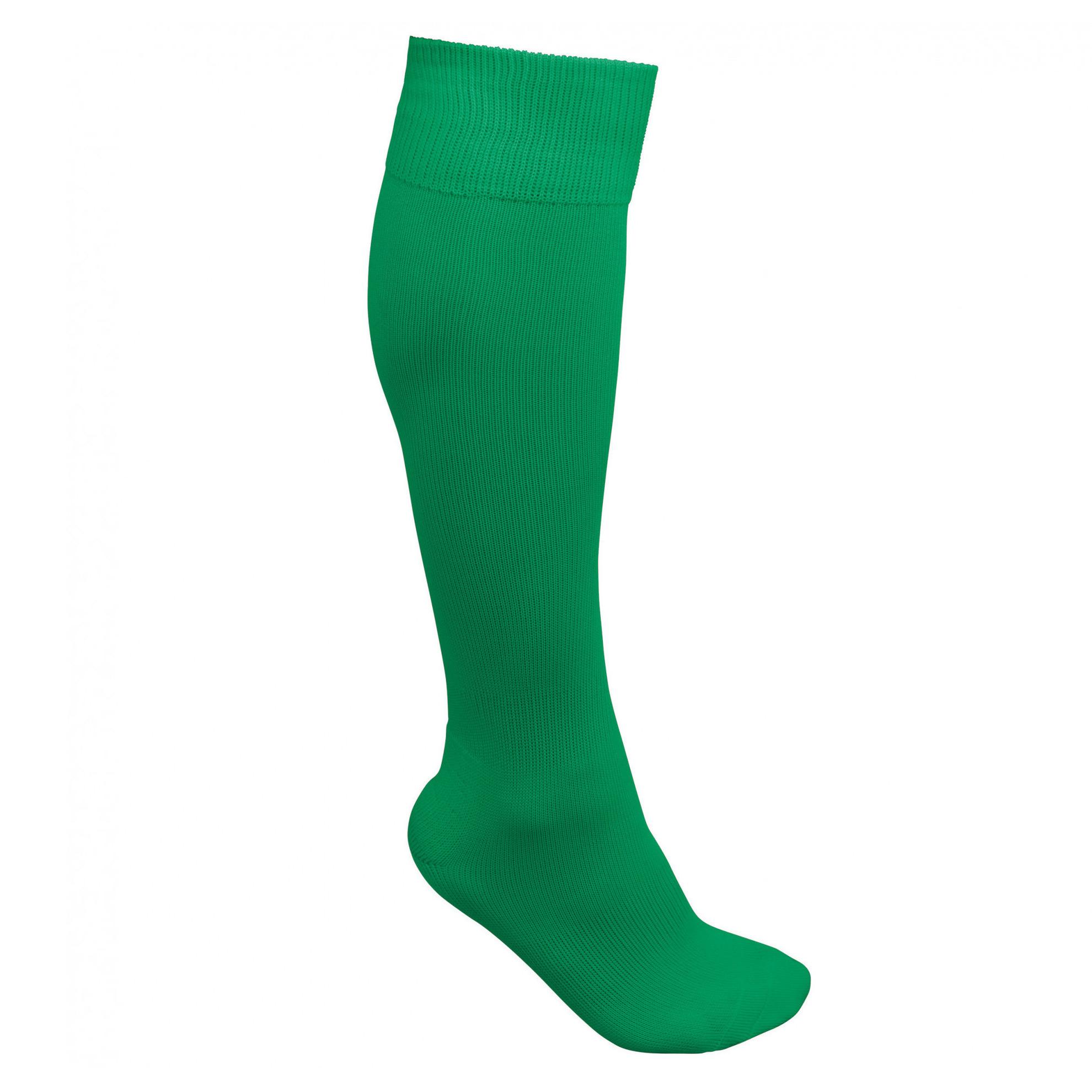 Groene hoge sportsokken 1 paar