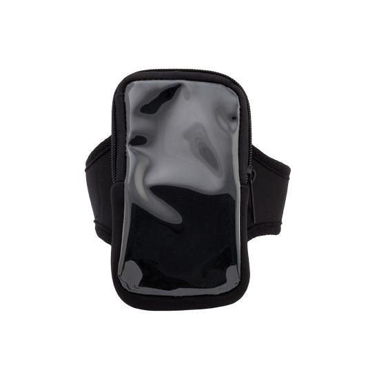 Hardloop band zwart voor telefoon