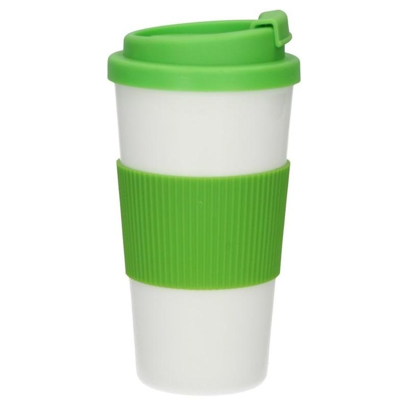 Herbruikbare koffie-thee meeneem beker groen 500 ml