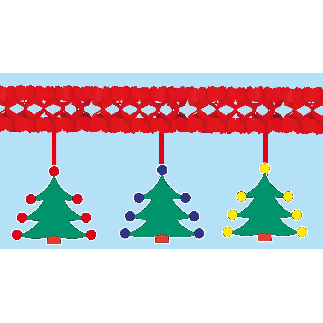 Kerstboom slingers 4 meter