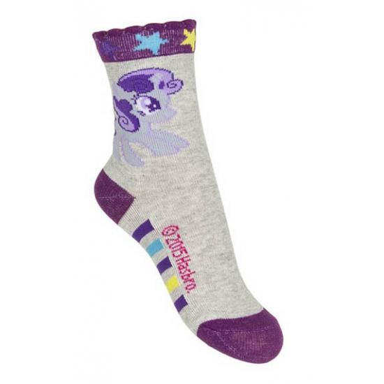 Kinder sokjes van My Little Pony grijs