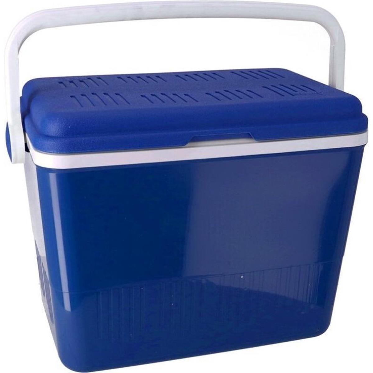 Koelbox 2-in-1 donkerblauw 42 liter 35 x 55 x 39 cm