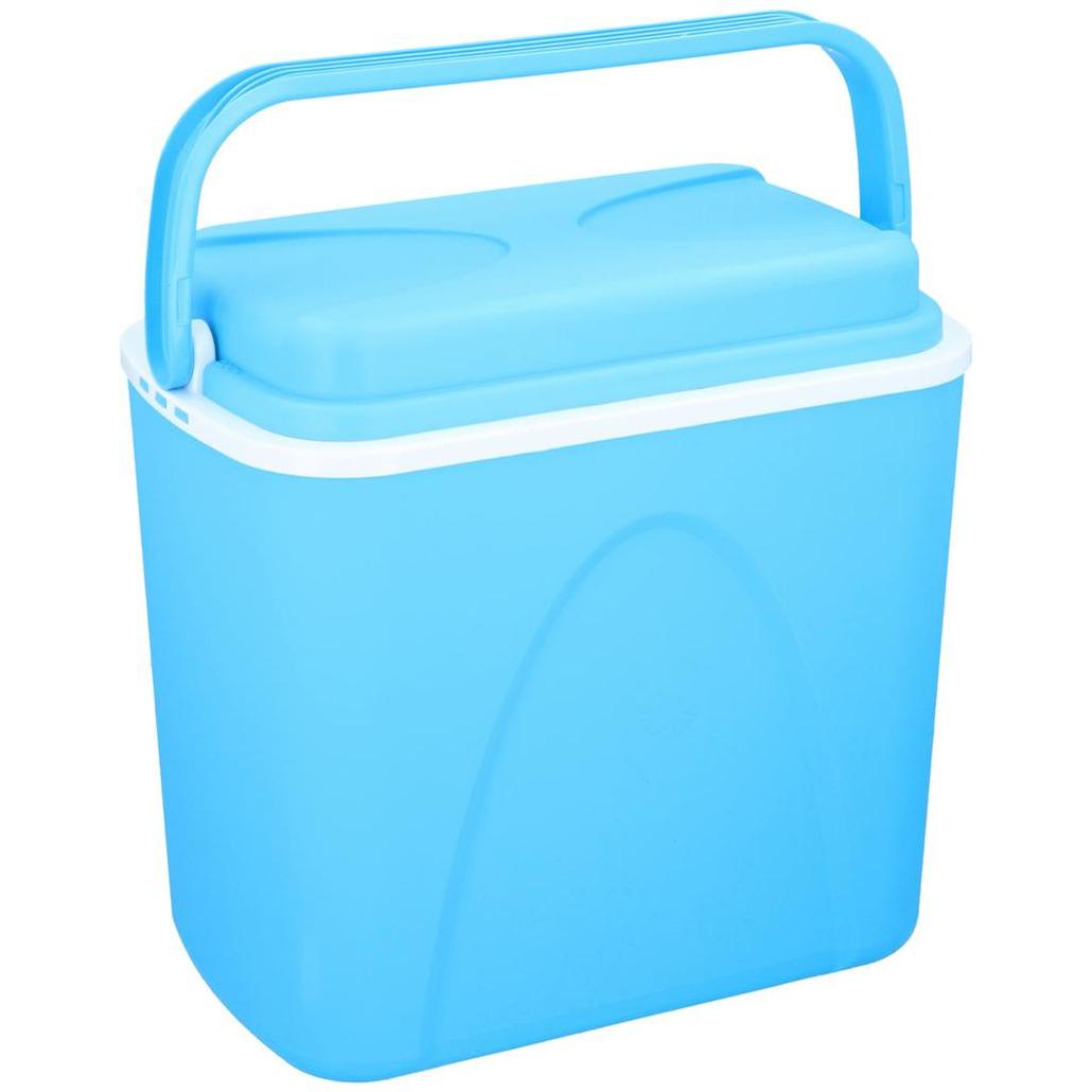 Koelbox blauw 24 liter 39 x 25 x 38 cm