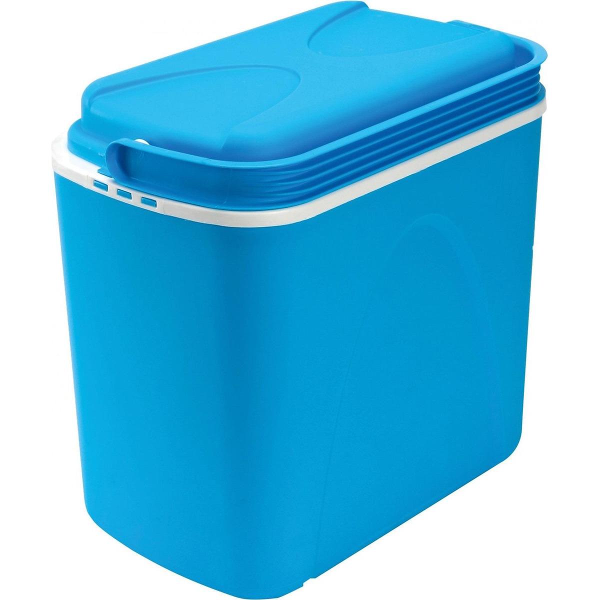 Koelbox blauw 24 liter 40 x 25 x 37 cm