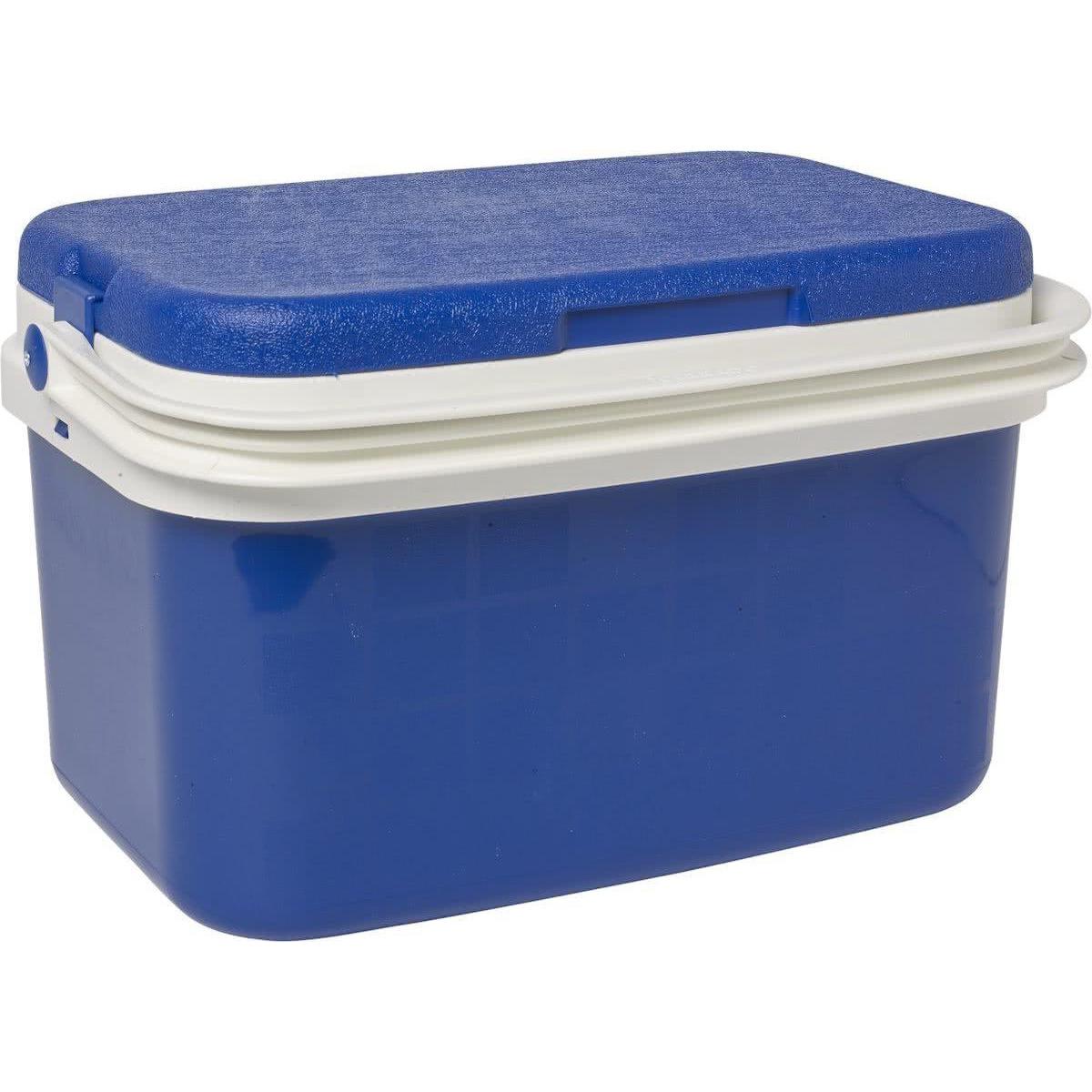 Koelbox donkerblauw 16 liter 42 x 29 x 26 cm