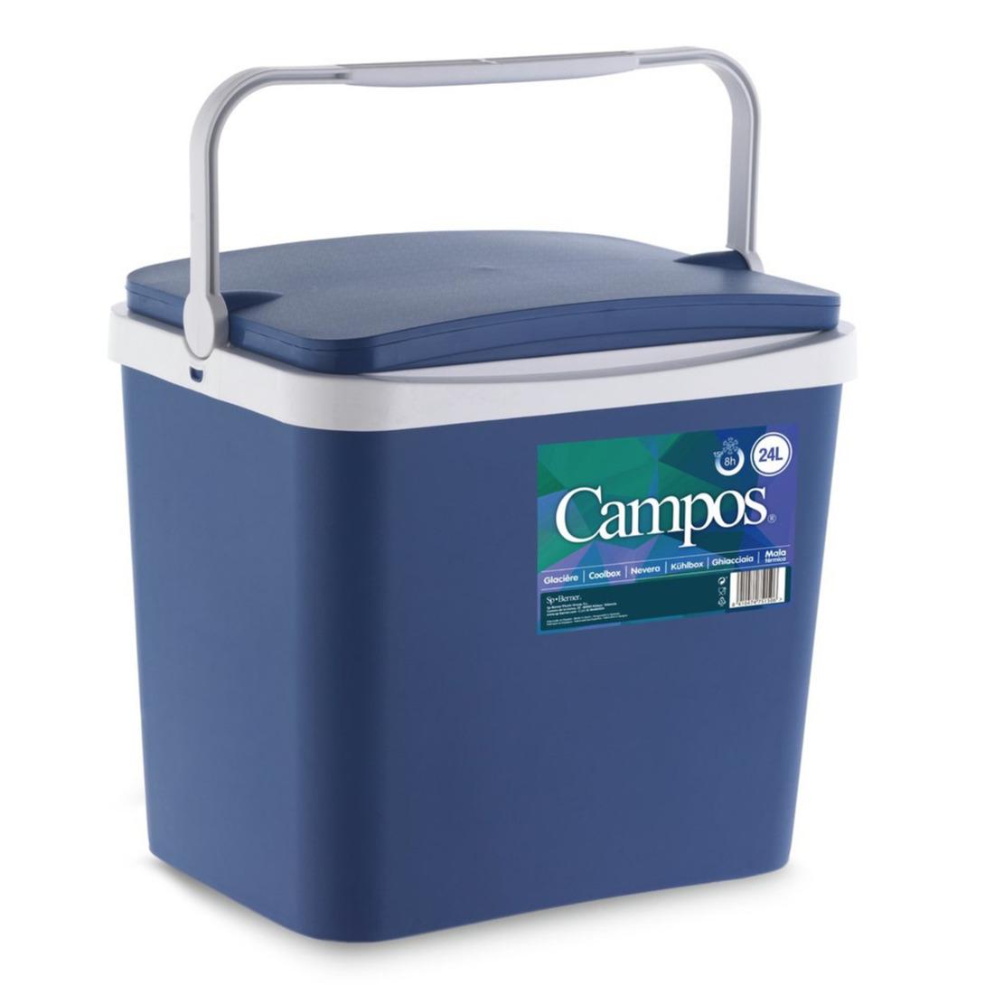 Koelbox donkerblauw 24 liter 40 x 30 x 36 cm