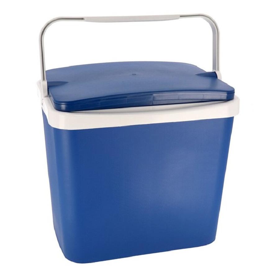 Koelbox donkerblauw 29 liter 40 x 29 x 44 cm