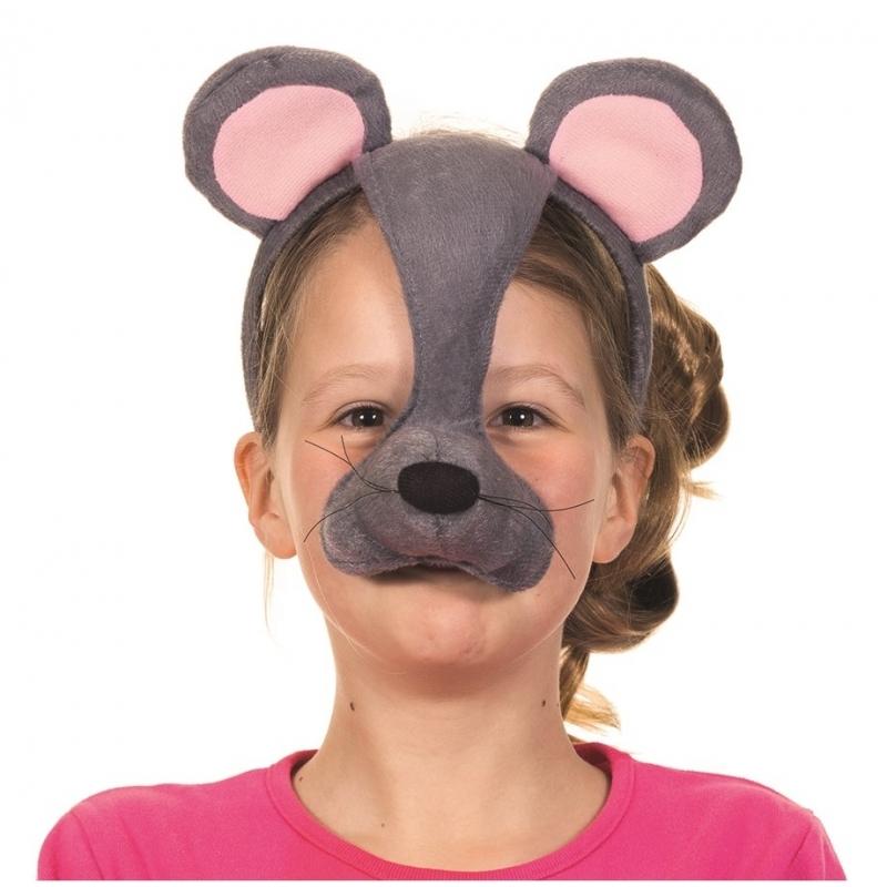 Muizen masker met geluid