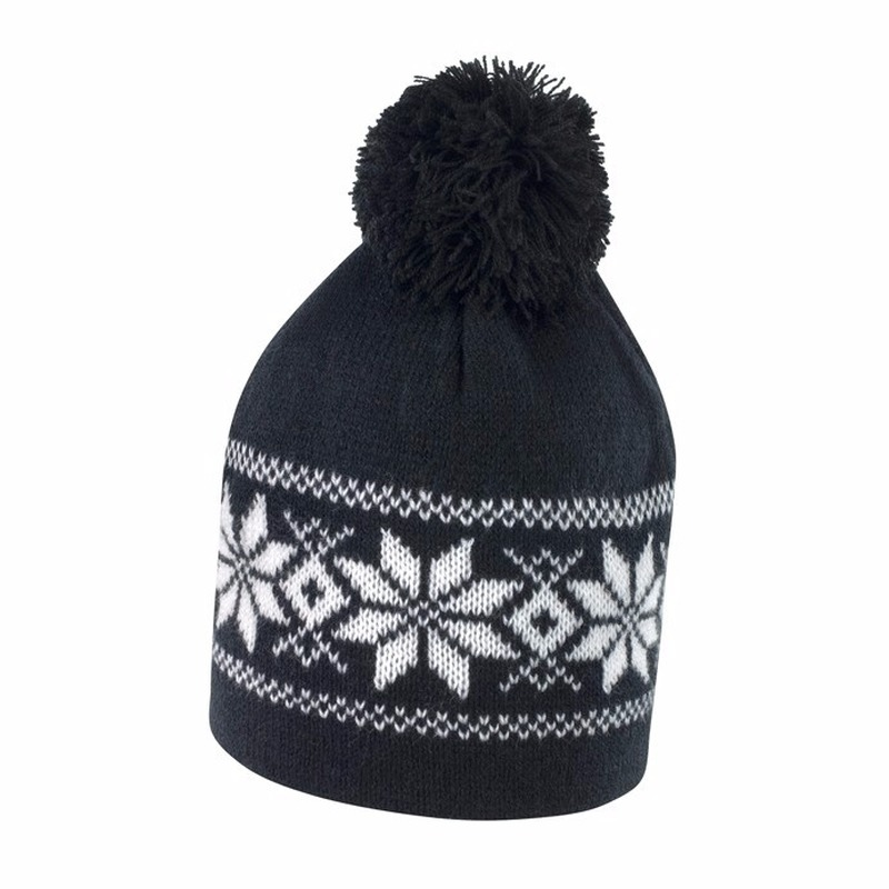 Nordic wintermuts zwart met wit