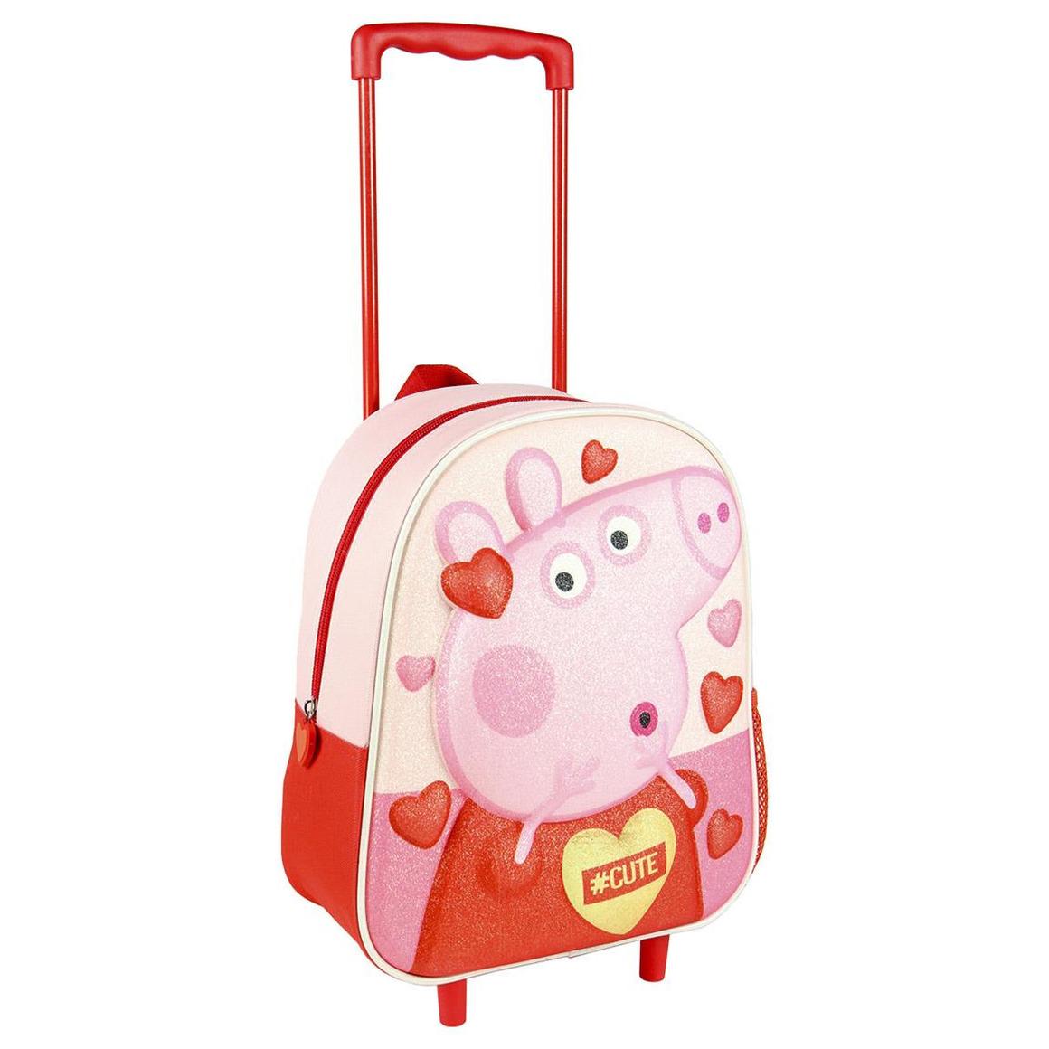 Peppa Pig-Big handbagage koffer-weekendtas voor jongens-meisjes-kinderen