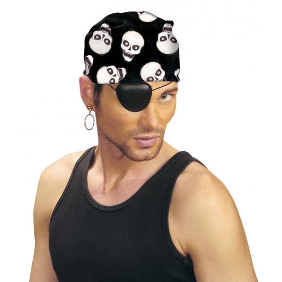 Piraten bandana met print