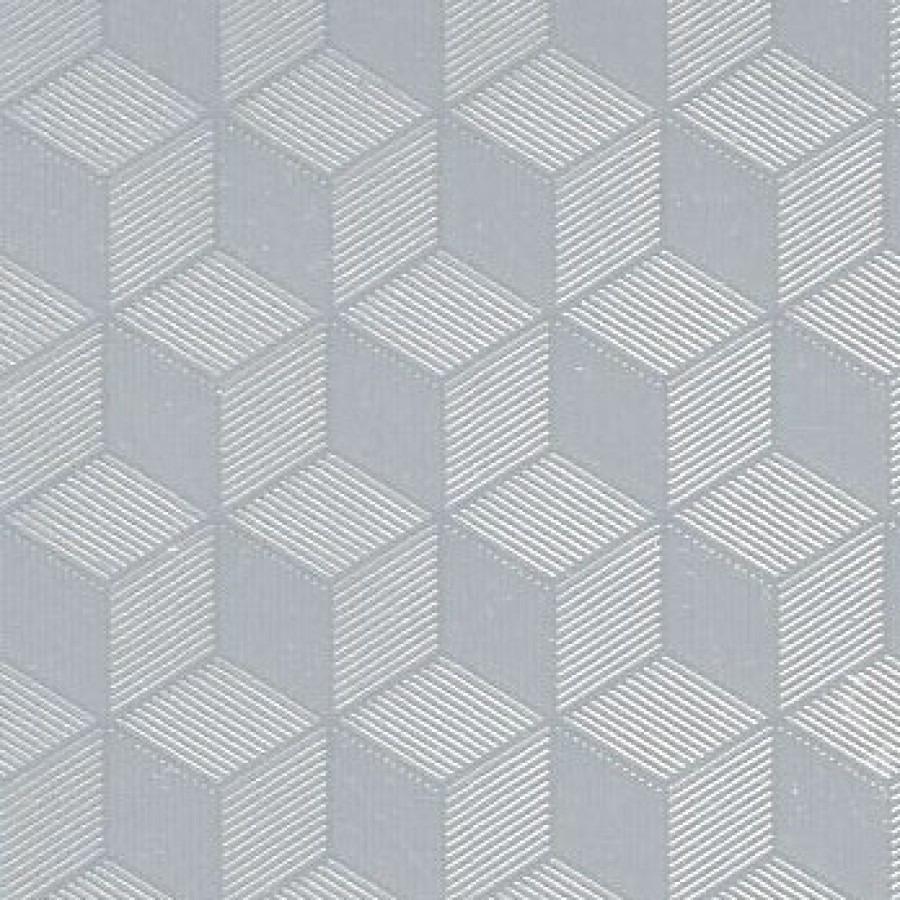 Raamfolie hexagon semi transparant 45 cm x 2 meter zelfklevend