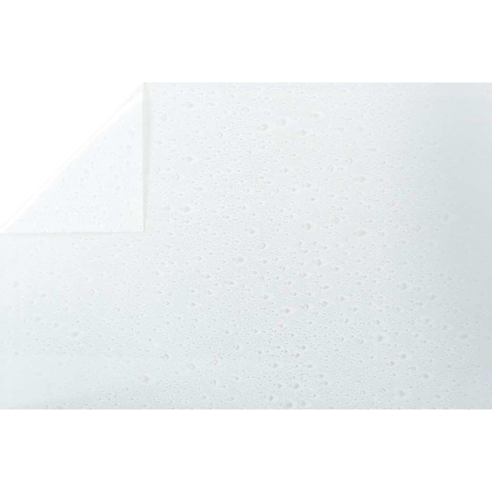 Raamfolie regendruppels semi transparant 45 cm x 2 meter zelfklevend