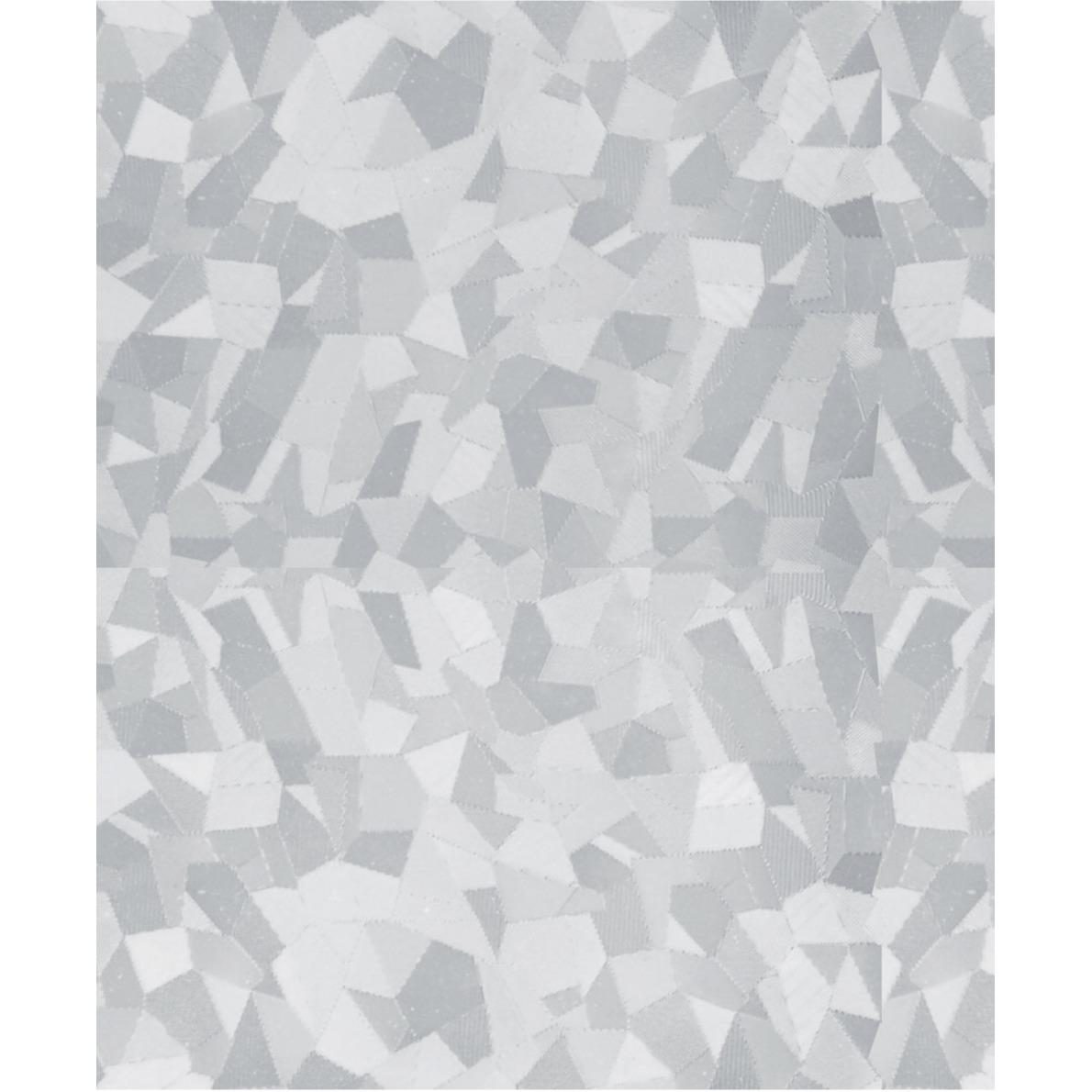 Raamfolie stenen semi transparant 45 cm x 2 meter statisch