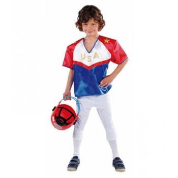 Rugby speler kostuum voor kinderen