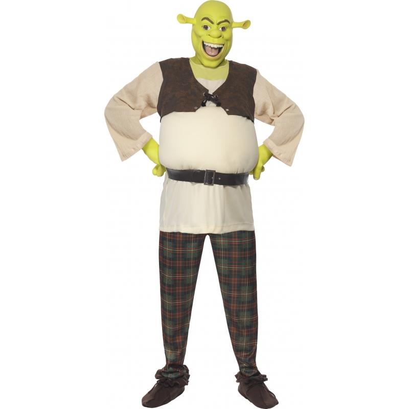 Schrek verkleed kostuum voor heren