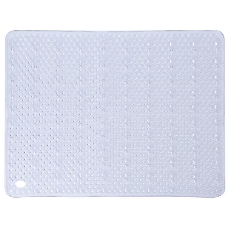 Transparante douchemat anti-slip 52 x 52 cm