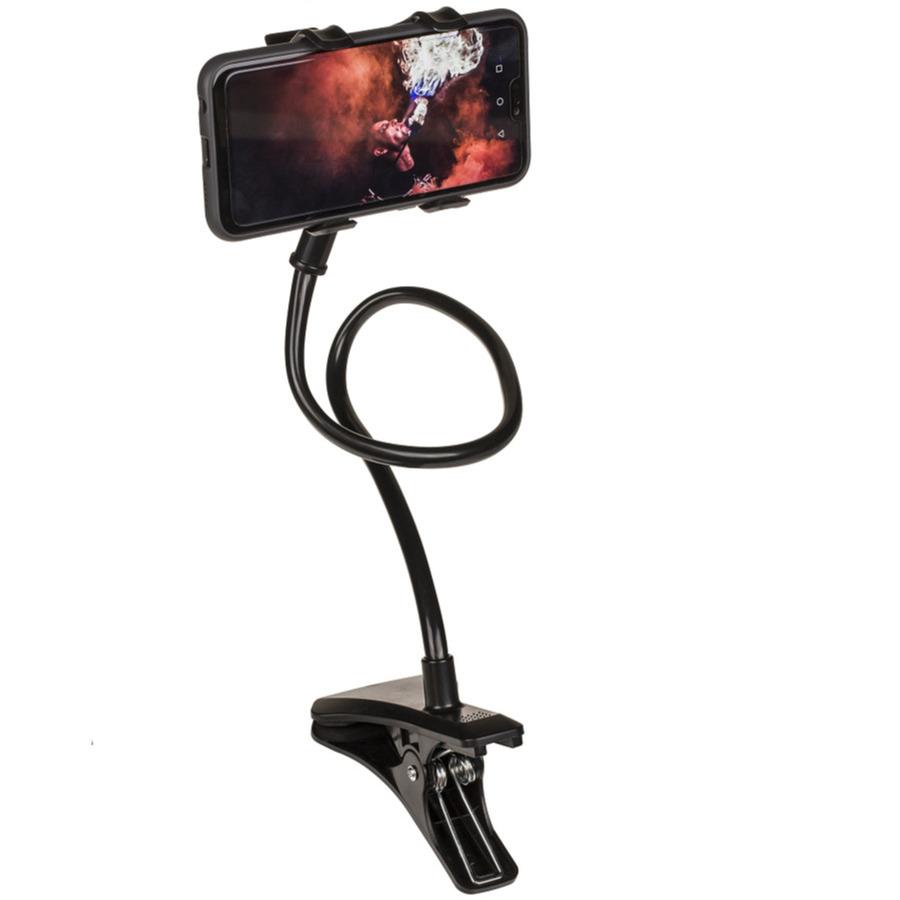 Universele smartphone houder met verstelbare arm 60 cm zwart