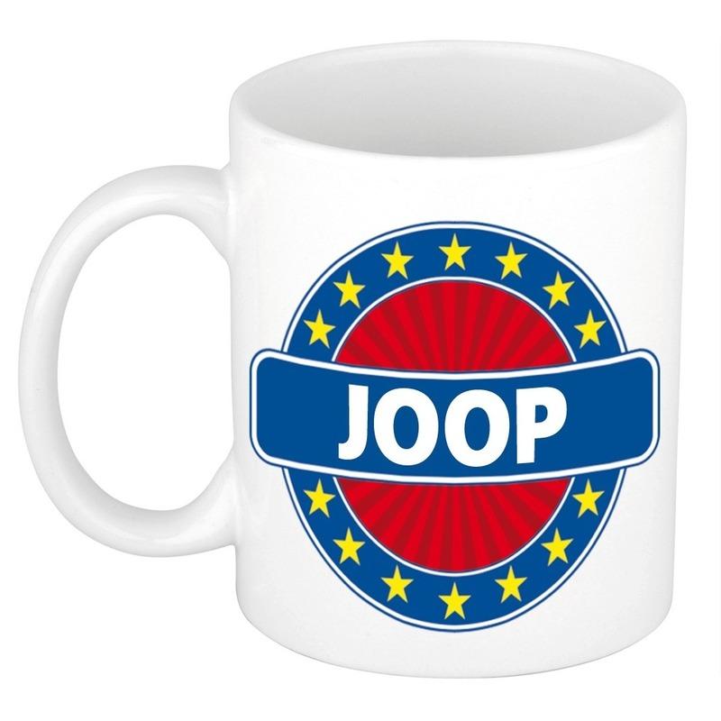 Voornaam Joop koffie-thee mok of beker