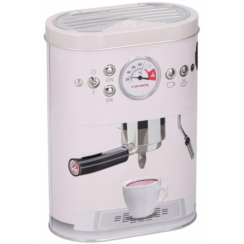 Voorraadblikken voor koffie-pads-cups wit 17 cm