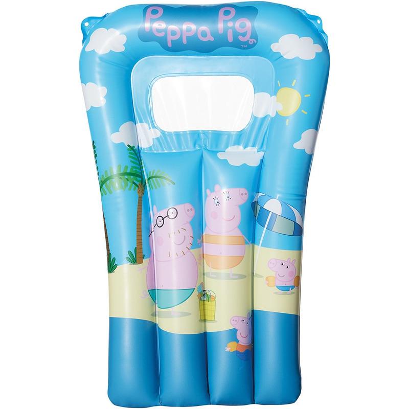 Waterspeelgoed Peppa Big-Pig luchtbed 67 x 43 cm voor jongens-meisjes-kinderen