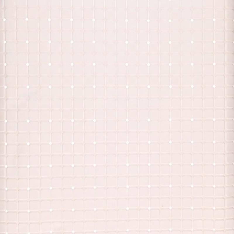 Witte douchemat anti-slip 55 x 55 cm