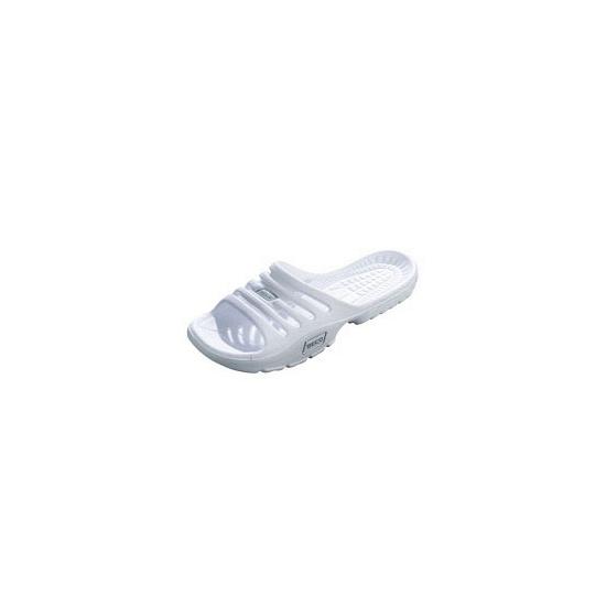 Witte strand slippers voor dames