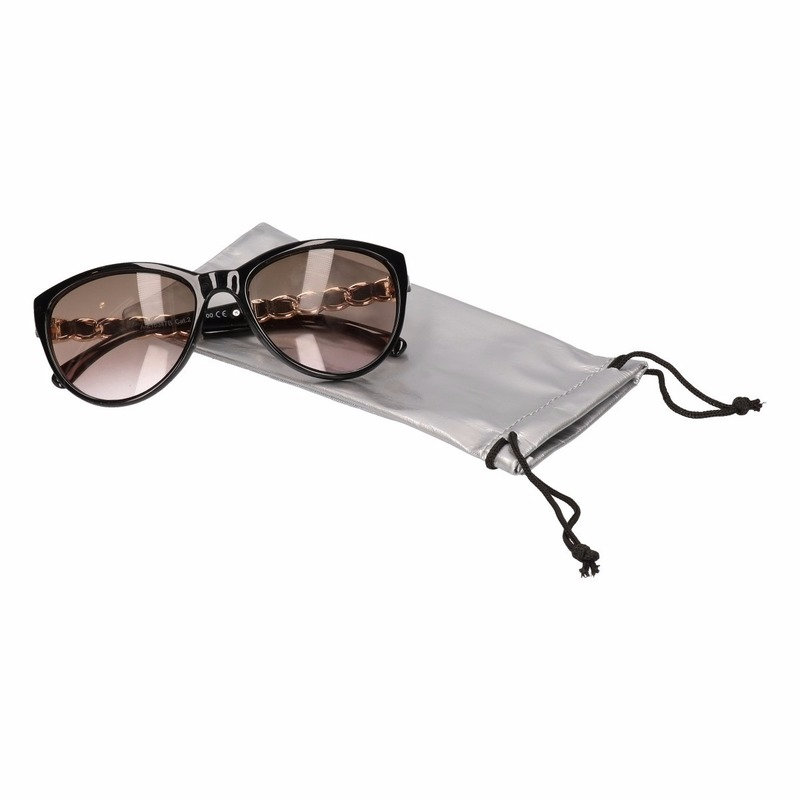 Zonnebrillen bescherm etui-hoesjes zilver