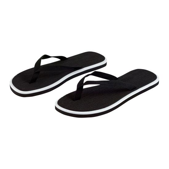 Zwarte heren slippers