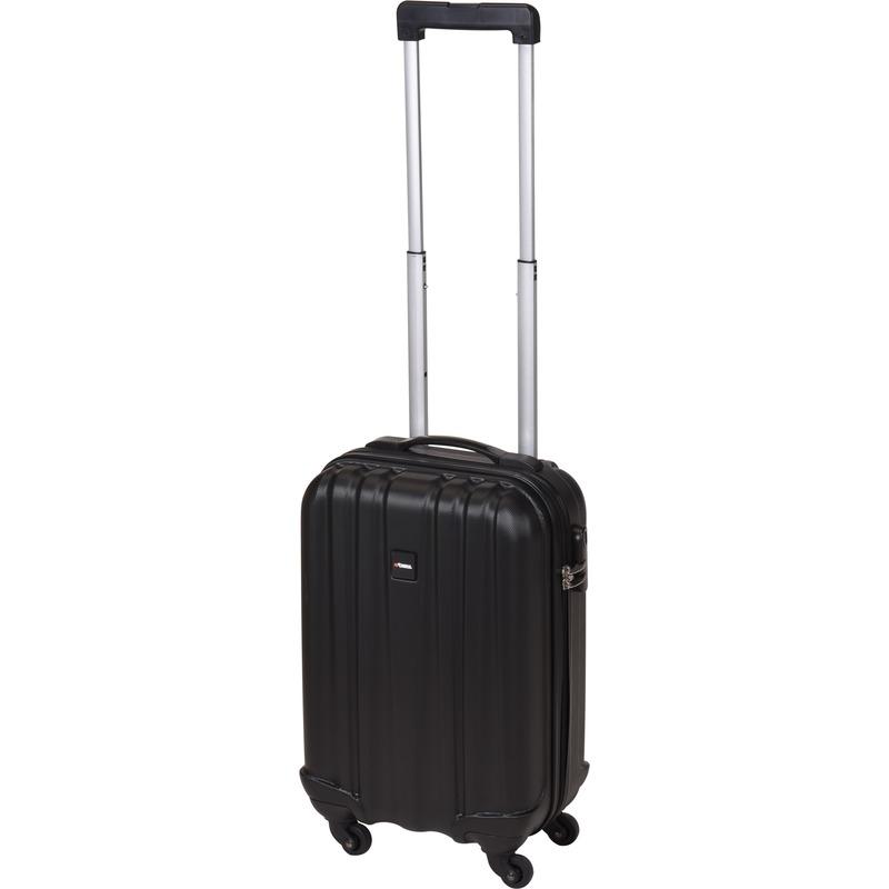 Zwarte kleine trolley-koffer 45 cm